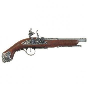 1077/g пистолет системы флинтлок, 18 век