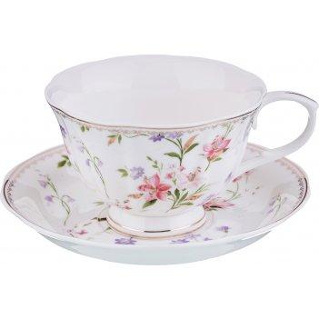 Чайный набор на 1 персону кипрей 2 пр. 200 мл. (кор=12набор.)