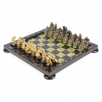 Шахматы спортивные змеевик 400х400 мм