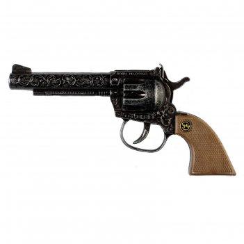 Пистолет «sheriff antique», 100-зарядный, 17,5 см, упаковка-тестер