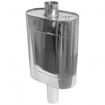 Бак феррум комфорт самоварного типа, 60 л, нержавеющий aisi 201/1.0 мм, d