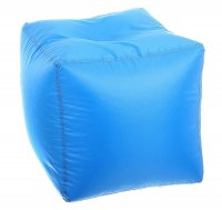 Пуфик-куб, 45смх45см, цвет 08 голубой oxford