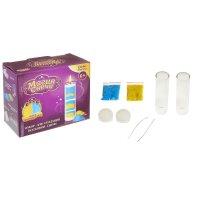 Набор для создания восковых свечей. серия песочные свечи набор №1 желтый-г