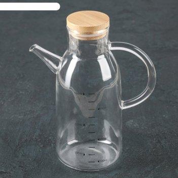 Бутылка для соуса и масла 550 мл эко