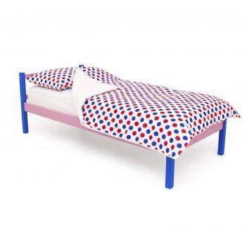 Детская кровать svogen classic синий-лаванда