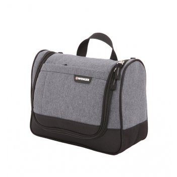 Несессер wenger  «toiletry kit», серый, ткань grey heather/полиэстер 600d