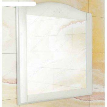 Зеркало для ванной монако-80 90 х 80 х 1,95 см, белое