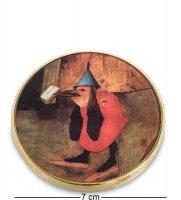 Pr-m25jb зеркальце искушение св.антония босх, фрагмент (museum.parastone)