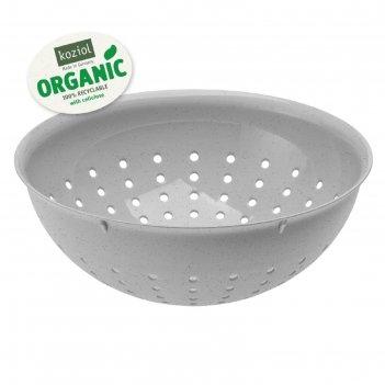 Дуршлаг palsby m organic, 2 л, серый