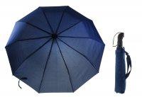 Зонт мужской полуавтомат, цвет темно-синий