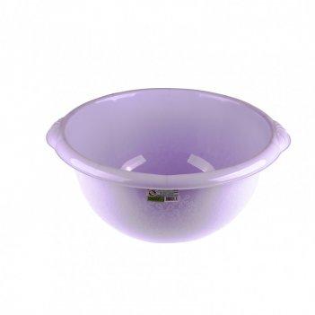 Таз пластмассовый круглый 18 л, фиолетовый, россия elfe