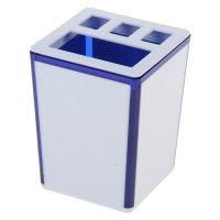 Подставка для зубных щеток spacy, синий