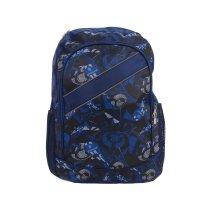 Рюкзак молодёжный на молнии скейтборд, 1 отдел, 3 наружных кармана, синий