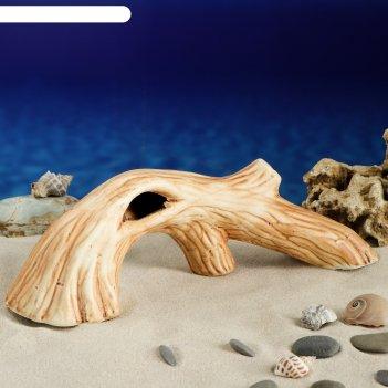 Аквадекор-грот для аквариума м137 коряга