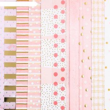 Набор бумаги для скрапбукинга «нежность», 10 листов, 20 x 20 см