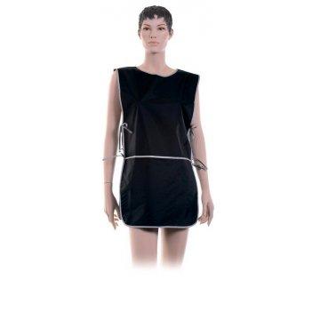 Фартук bn90015  мастера для стрижки и окрашивания, нейлон, черный, со спин