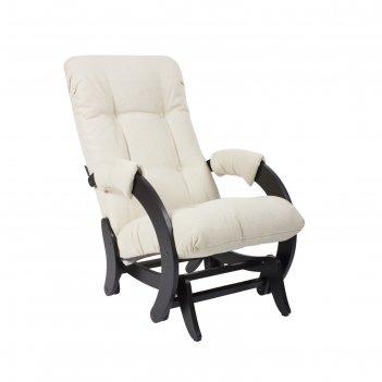 Кресло-качалка глайдер модель 68 венге/мальта 01