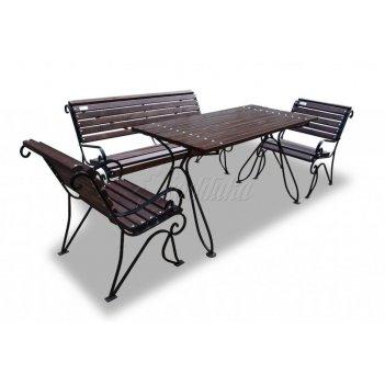 Комплект садовой мебели «вояж» комплектация 1,5 м.