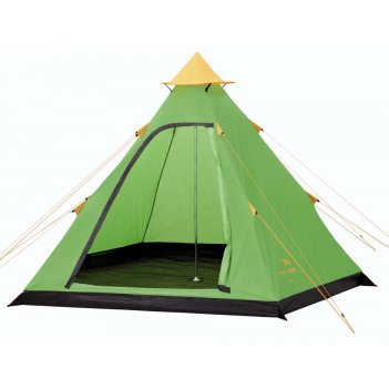 Палатка easy camp tipi green 4-х местная