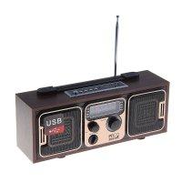 Радиоприемник бзрп рп-308, 220вт, usb, sd, стереозвук