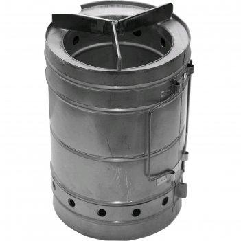 Печка щепочница век тур-б d 160мм