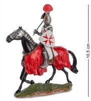 Ws-828 статуэтка конный рыцарь крестоносец