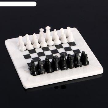 Шахматы «элит», доска 20х20 см, оникс вид 2,