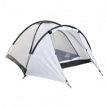 Палатка туристическая verag 3-х местная, цвет айвори