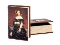 Комплект шкатулок для книг из 2 шт. 30*7*21/24*5*1...