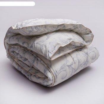 Одеяло «стандарт» евро, размер 200х220 см, принт узор, лебяжий пух