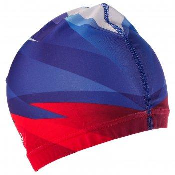 Шапочка для плавания, взрослая ol-019, триколор 3, текстиль
