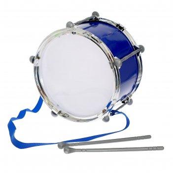 Барабан крутой барабанщик, d=20 см, микс