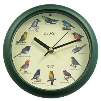 Настенные часы la mer gc 010002 (птичьи трели)