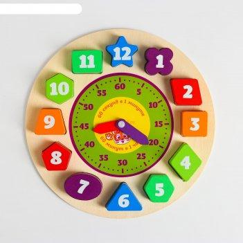 Часы рамка-вкладыш геометрия