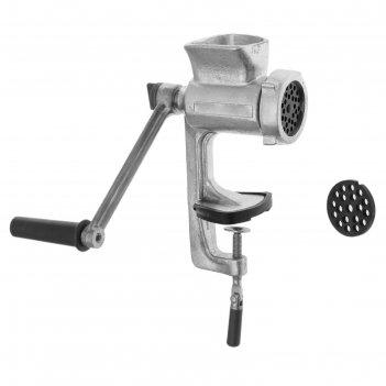 Мясорубка  механическая чугунная мотор-сич