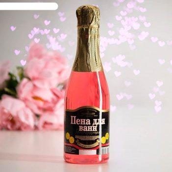 Пена для ванн розовые мечты, тонизирующая, 450 мл