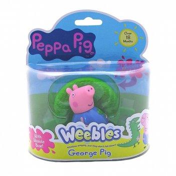 Игровой набор peppa pig. неваляшка джордж