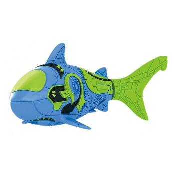 Тропическая роборыбка акула (синяя) лицензия от robofish zuru