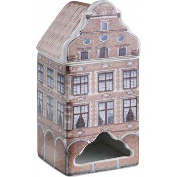 Банка для чайных пакетиков 8.5*8 см. высота=18 см. (кор=24шт.)