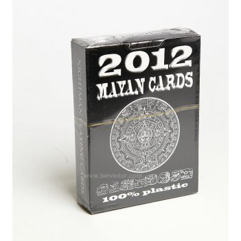 Игральные карты для покера maya 2012, пластик