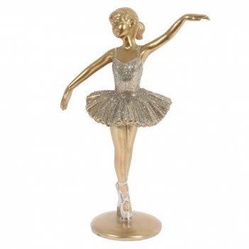 Фигурка декоративная балерина, l12,5 w7 h18,5 см