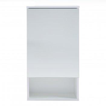 Зеркало-шкаф вега 5502 белое, 55 х 136 х 70 см