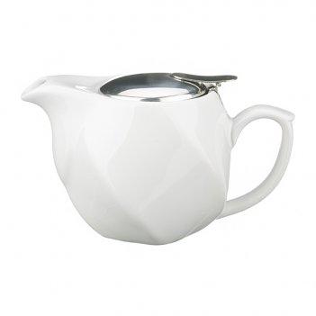 Заварочный чайник 500 мл.белый (кор=24шт.)