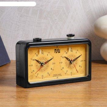 Часы шахматные кварцевые, 9004а 18х10.5х5.5 см