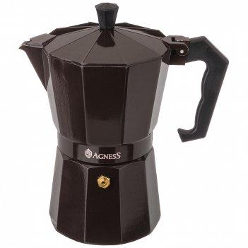 Кофеварка гейзерная, 300 мл на 6 чашек (кор=36шт.)