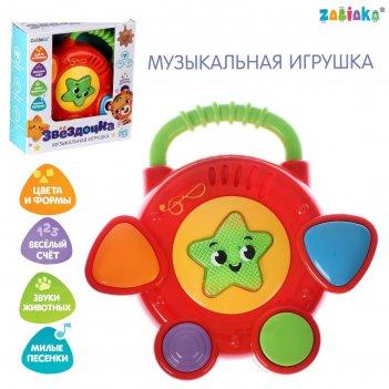 Zabiaka музыкальная игрушка звездочка звук, свет, sl-042301