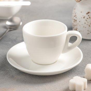 Кофейная пара: чашка 110 мл, блюдце, wl-993174 / ab