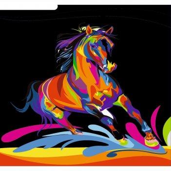 Фреска конь а3