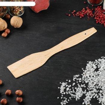 Лопатка кулинарная плоская