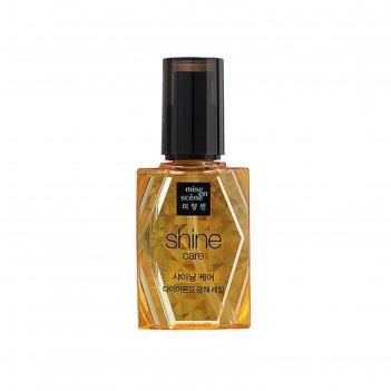 Сыворотка для блеска волос mise en scene shine care diamond oil, 70 мл